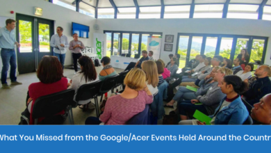 Photo of Teachers: Here's What You Missed from the Google/Acer Events Held Around the Country