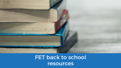 Photo of FET Back-to-School Resources