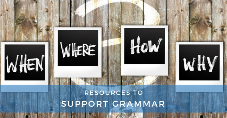 Photo of Resources to Support Grammar