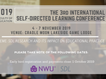 Self-Directed Learning (SDL) Conference 2019