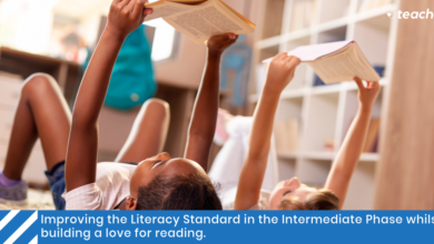 Photo of Improving the Literacy Standard in the Intermediate Phase whilst building a love for reading.
