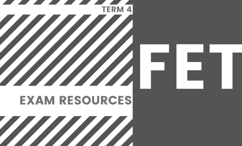 Photo of FET EXAM RESOURCES