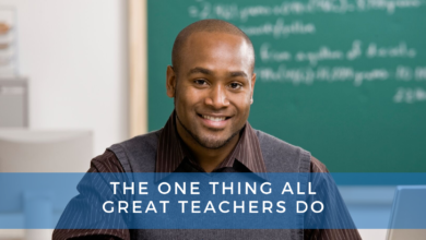 Photo of The One Thing All Great Teachers Do