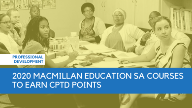 Photo of 2020 Macmillan Education SA Courses to Earn CPTD Points