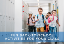 Photo of Fun back-to-school classroom activities