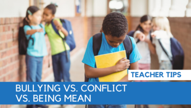 Photo of Bullying vs. Conflict vs. Being Mean
