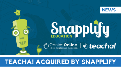 Photo of Snapplify acquires Onnie Media / Teacha!