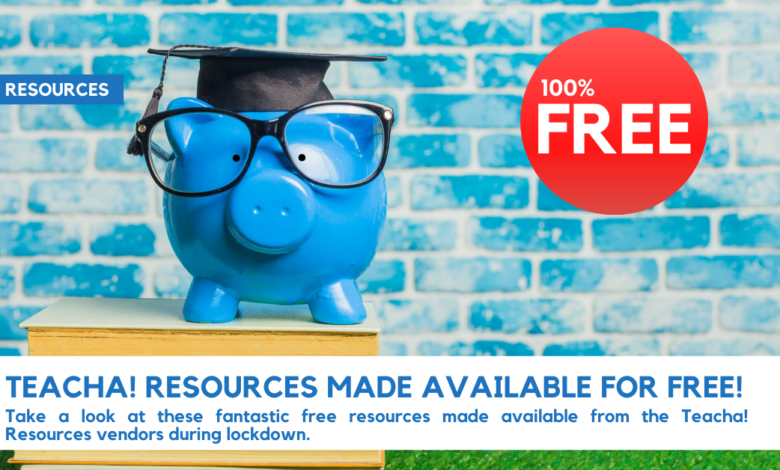 Photo of FREE CONTENT ON TEACHA! RESOURCES